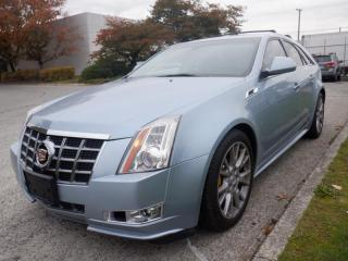 Used 2013 Cadillac CTS Sport Wagon 3.6L Premium AWD Navigation for sale in Burnaby, BC