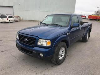 Used 2009 Ford Ranger Cabine super 4 RM 126 po XL for sale in Québec, QC