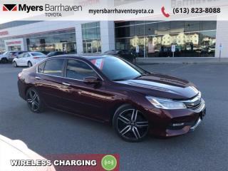 Used 2016 Honda Accord Sedan Touring  - Navigation - $128 B/W for sale in Ottawa, ON