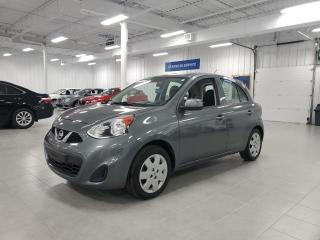 Used 2017 Nissan Micra SV - A/C + GROUPE ELECTRIQUE + JAMAIS ACCIDENTE !! for sale in St-Eustache, QC