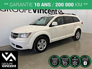 Used 2012 Dodge Journey SE PLUS ** GARANTIE 10 ANS ** Véhicule familiale abordable! for sale in Shawinigan, QC