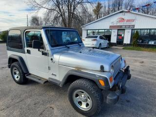 Used 2002 Jeep Wrangler SPORT for sale in Barrie, ON