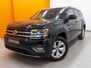 Used 2018 Volkswagen Atlas R LINE 4MOTION RÉG ADAP CUIR GR. SÉCUR *TOIT PANO* for sale in St-Jérôme, QC