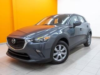 Used 2016 Mazda CX-3 GX AWD ÉCRAN TACTILE BLUETOOTH *CAMÉRA RECUL* for sale in St-Jérôme, QC