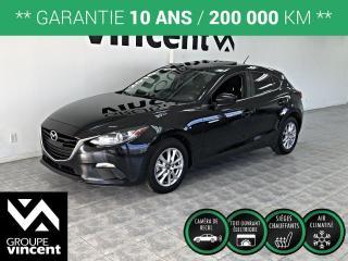 Used 2016 Mazda MAZDA3 GS TOIT OUVRANT ** GARANTIE 10 ANS ** Découvrez la conduite dynamique Mazda! for sale in Shawinigan, QC