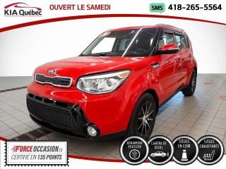 Used 2015 Kia Soul SX* CAMERA* CUIR* SIEGES CHAUFFANTS* for sale in Québec, QC