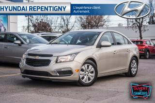 Used 2015 Chevrolet Cruze 1LT **A/C,BLUETOOTH,GROUPE ÉLECTRIQUE** for sale in Repentigny, QC