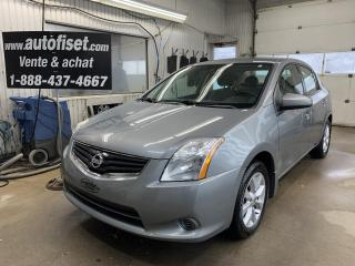 Used 2011 Nissan Sentra 4DR SDN I4 CVT 2.0 for sale in St-Raymond, QC