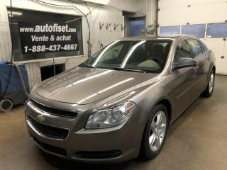 Used 2011 Chevrolet Malibu 4dr Sdn LS $40.32  par semaine+taxes for sale in St-Raymond, QC
