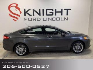 Used 2015 Ford Fusion SE, Accident Free, Local! for sale in Moose Jaw, SK