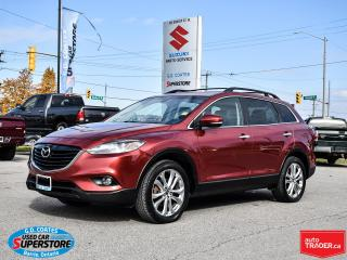 Used 2013 Mazda CX-9 GT AWD ~7-Passenger ~Nav ~Cam ~Leather ~Moonroof for sale in Barrie, ON