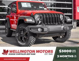 New 2021 Jeep Wrangler Willys Sport for sale in Guelph, ON