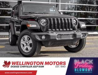 Used 2019 Jeep Wrangler Sport S / One Owner / Clean CarFax .... for sale in Guelph, ON