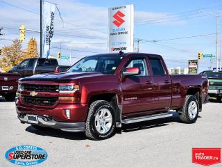Used 2017 Chevrolet Silverado 1500 LT Z71 Extended Cab 4x4 ~Backup Cam ~Trailer Tow for sale in Barrie, ON