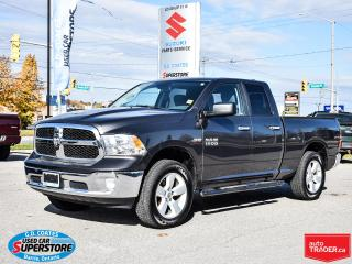 Used 2016 RAM 1500 SLT Quad Cab 4x4 ~HEMI ~8-Speed ~Fog Lamps ~20s for sale in Barrie, ON