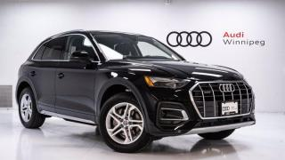New 2021 Audi Q5 Komfort for sale in Winnipeg, MB