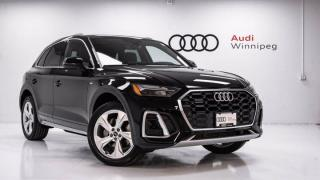 New 2021 Audi Q5 PROGRESSIV for sale in Winnipeg, MB