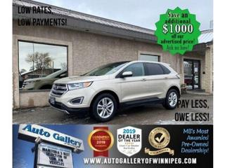 Used 2017 Ford Edge SEL* Awd/Navi/Htd seats/Pano for sale in Winnipeg, MB