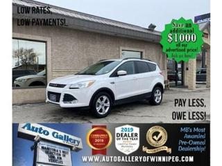 Used 2014 Ford Escape SE* Awd/Htd seats/B.cam for sale in Winnipeg, MB