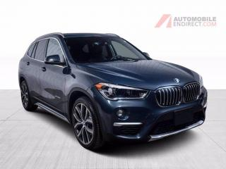 Used 2016 BMW X1 28i xDrive Sport Pack Cuir Toit Pano Caméra for sale in St-Hubert, QC