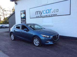Used 2018 Mazda MAZDA3 GS SUNROOF, HEATED SEATS, BACKUP CAM, ALLOYS!! for sale in Kingston, ON