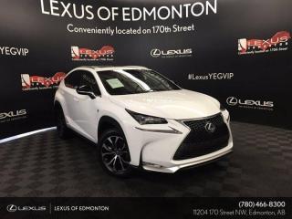 Used 2017 Lexus NX 200t F SPORT SERIES 2 for sale in Edmonton, AB