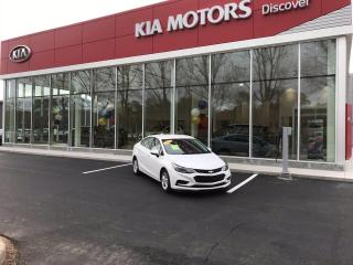 Used 2016 Chevrolet Cruze LT AUTO for sale in Charlottetown, PE
