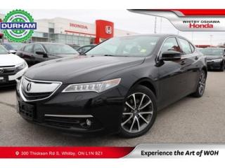 Used 2016 Acura TLX Sh-Awd for sale in Whitby, ON