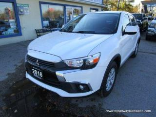 Used 2016 Mitsubishi RVR ALL-WHEEL CONTROL SE EDITION 5 PASSENGER 2.0L - DOHC.. HEATED SEATS.. BACK-UP CAMERA.. BLUETOOTH SYSTEM.. TOUCH SCREEN DISPLAY.. KEYLESS ENTRY.. for sale in Bradford, ON