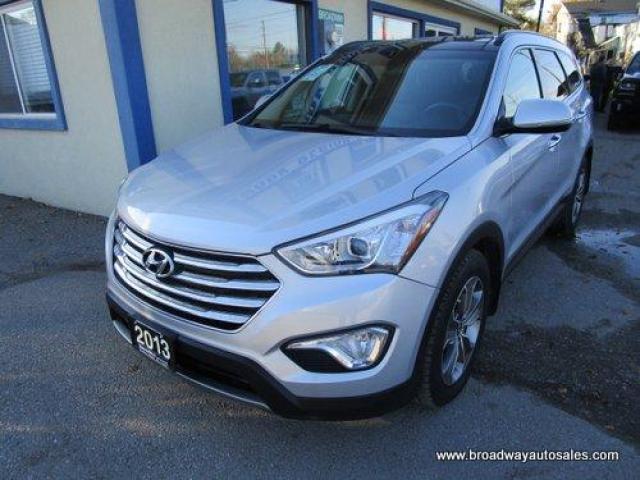 2013 Hyundai Santa Fe ALL-WHEEL DRIVE XL EDITION 7 PASSENGER 3.3L - V6.. BENCH & THIRD ROW.. LEATHER.. HEATED SEATS.. ACTIVE-ECO.. BACK-UP CAMERA.. BLUETOOTH..