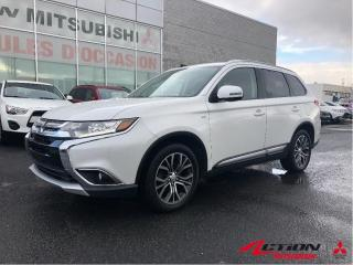 Used 2017 Mitsubishi Outlander SE TOURING AWC/7 PLACES/TOIT/MAGS 18/V6/APPLE CAR for sale in St-Hubert, QC