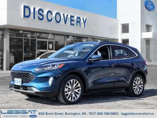 Used 2020 Ford Escape Titanium for sale in Burlington, ON
