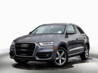 Used 2015 Audi Q3 Progressiv for sale in Port Coquitlam, BC