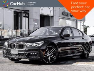 Used 2017 BMW 7 Series 750i xDrive M-Sport & Aero pkgs Harman Kardon 360 & Backup Cameras for sale in Thornhill, ON