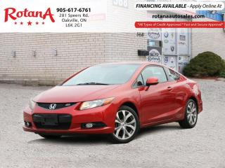 Used 2012 Honda Civic Si w/NAVI/SUNROOF/LOW KMs for sale in Oakville, ON