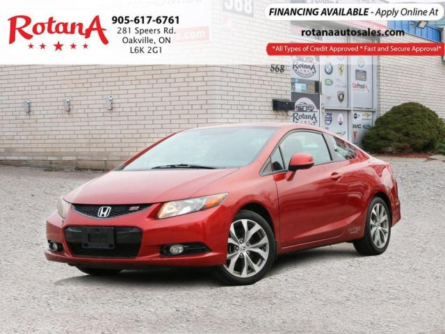 2012 Honda Civic Si w/NAVI/SUNROOF/LOW KMs