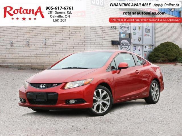 2012 Honda Civic Si w/NAVI/SUNROOF/LOW KMs