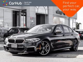 Used 2019 BMW 5 Series M550i xDrive Massage Seats Harman Kardon Sunroof for sale in Thornhill, ON