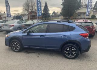 Used 2019 Subaru XV Crosstrek Tourisme CVT for sale in Victoriaville, QC