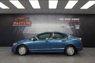 Used 2010 Honda Civic DX-G AUTOMATIQUE A/C CRUISE 111 185 KM CERTIFIÉ !! for sale in Lévis, QC
