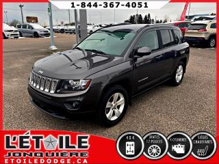 Used 2015 Jeep Compass 4x4, North sieges chauffants for sale in Jonquière, QC
