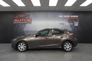 Used 2016 Mazda MAZDA3 SPORT GX SKY MANUEL A/C CAMERA BLUETOOTH 32 425 KM for sale in Lévis, QC