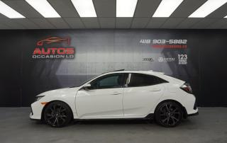 Used 2017 Honda Civic SPORT TURBO AUTO SENSING TOIT MAGS CAMERA 38 582 for sale in Lévis, QC