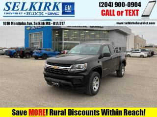 New 2021 Chevrolet Colorado WT  - Climate Control for sale in Selkirk, MB