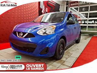 Used 2016 Nissan Micra *S* LECTEUR CD*AUX* for sale in Québec, QC