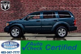 Used 2008 Dodge Durango 4x4 SLT 3rd Row for sale in Red Deer, AB