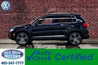 Used 2017 Volkswagen Tiguan 4Motion Highline R-Line Leather Roof Nav for sale in Red Deer, AB