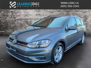 Used 2019 Volkswagen Golf Sportwagen 1.8 TSI Comfortline AWD, Apple Car Play and Android Auto, Heated Seats for sale in King, ON