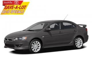 Used 2010 Mitsubishi Lancer GTS AS-IS - ONE OWNER for sale in Stouffville, ON