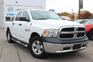 Used 2017 RAM 1500 ST CREW CAB 4X4 CERTIFIED! for sale in Hamilton, ON